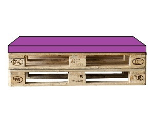 sitzpolster f r palettensofa 120 x 80. Black Bedroom Furniture Sets. Home Design Ideas