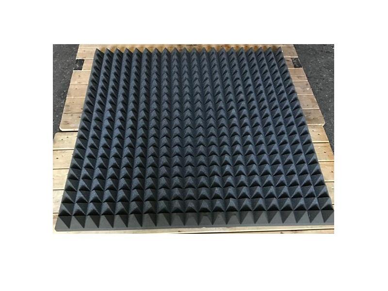 schallabsorber pyramide pu schaum anthrazit 7cm chf 25 00 schaumstoff nach mass online kaufen. Black Bedroom Furniture Sets. Home Design Ideas