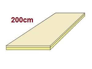 visco komfort matratze 200. Black Bedroom Furniture Sets. Home Design Ideas
